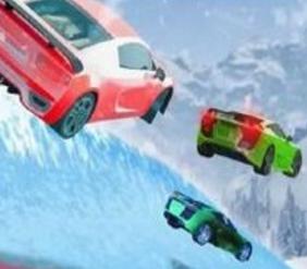 冰冻水滑道赛车
