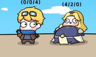 英雄联盟搞笑动画新一期 你是哪种类型的辅助呢?