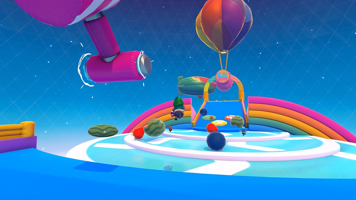 《糖豆人:终极淘汰赛》季中更新:新增随机混合关卡障碍及反作弊系统