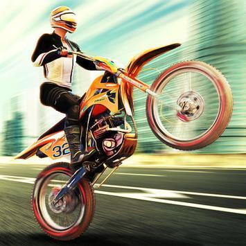 超级3D摩托车特技赛车官方版